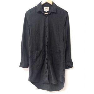 Naked & Famous Button Up Dress / Long shirt